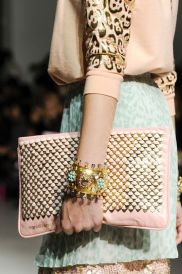 Manish Arora- pretty pastel and one that can carry more that a phone and credit card.