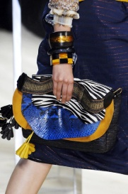 Marc Jacobs- all about the texture clash.