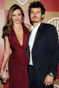With hubby, Orlando Bloom